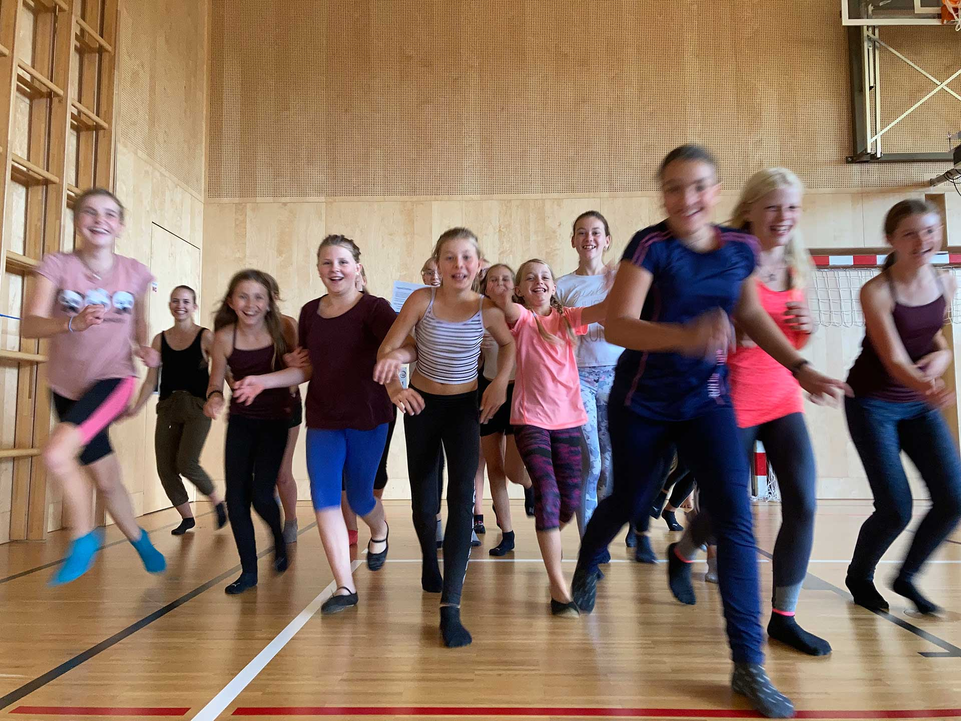 one, two – one two three four – TanzWorkshop